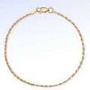 Jewelry - GIANI BERNINI Gold Plated SS 1.8mm Bracelet